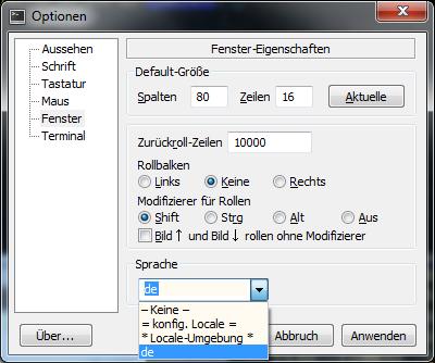 Mintty — Cygwin Terminal emulator